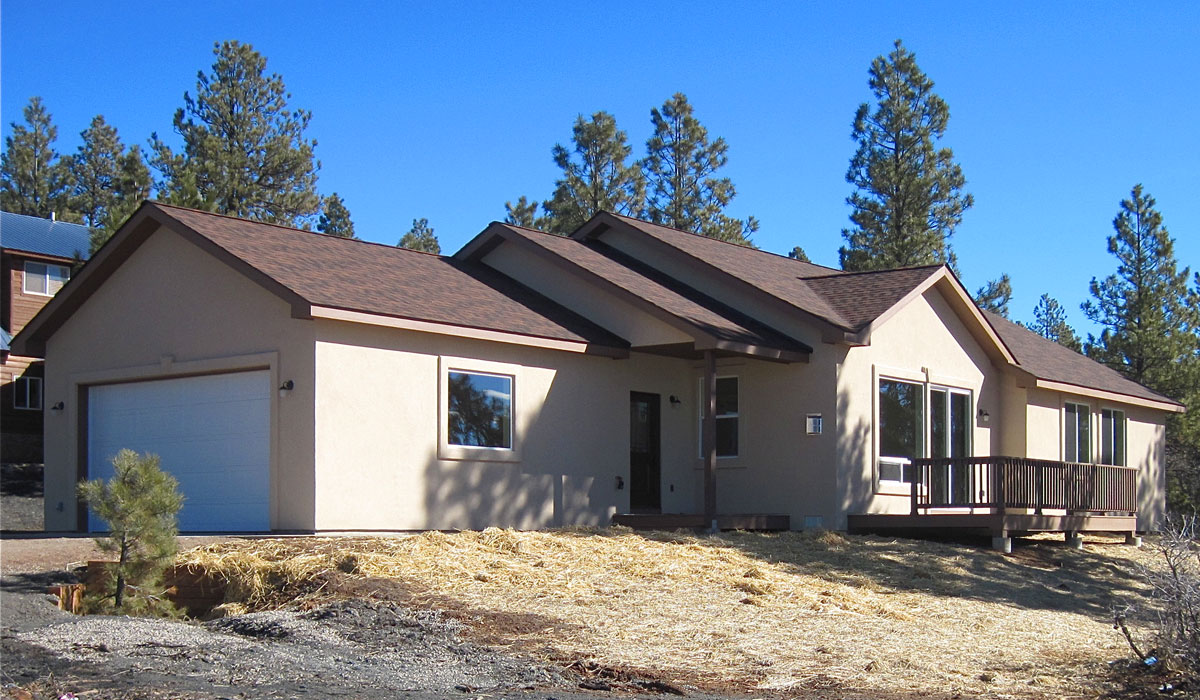 Quality home builders in durango pagosa springs for Modern homes colorado springs